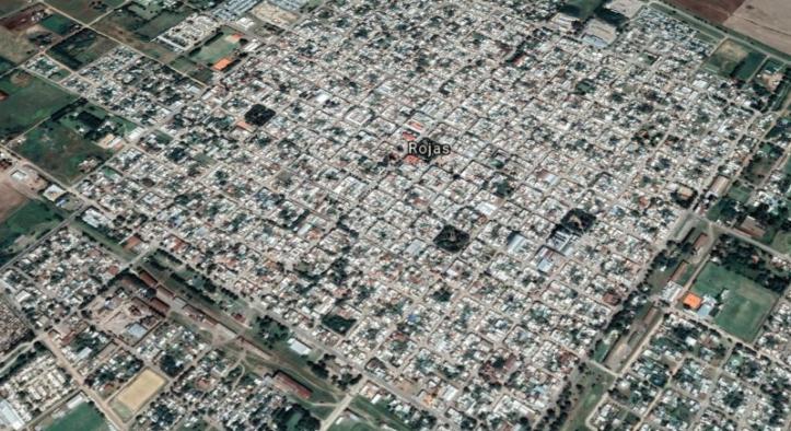 Rojas satelite