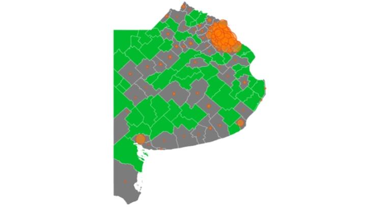 Mapa Provincia Covid